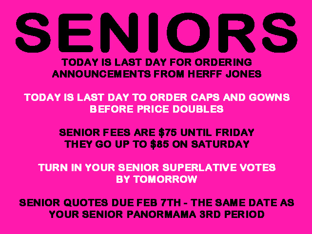 Quotes For Seniors Extraordinary Senior Announcement  River Ridge High School
